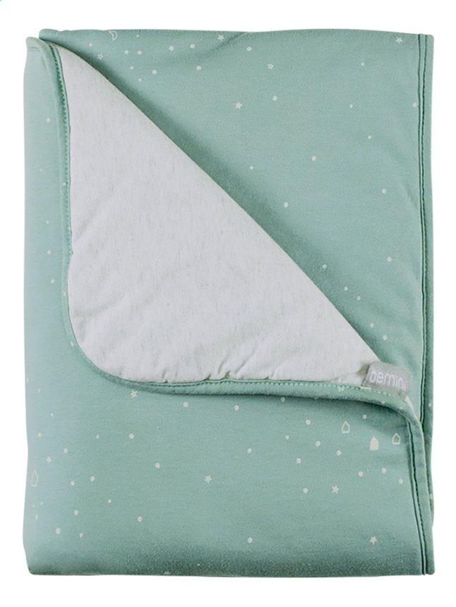 Bemini Couverture Frizy jersey menthe