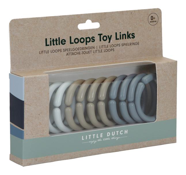 Little Dutch Activiteitenspeeltje Little Loops Blue