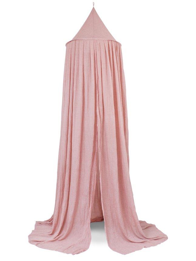 Jollein Bedhemel Vintage blush pink 245 cm