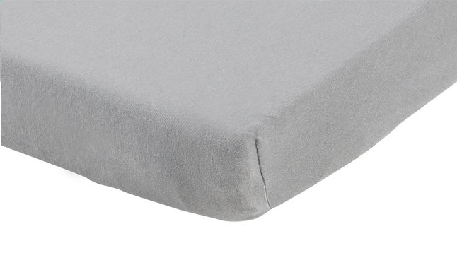 Image pour Dreambee Drap-housse pour berceau Essentials gris coton Lg 60 x L 120 cm à partir de Dreambaby