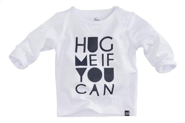 Afbeelding van Z8 T-shirt met lange mouwen Papaya white/navy maat 56 from Dreambaby