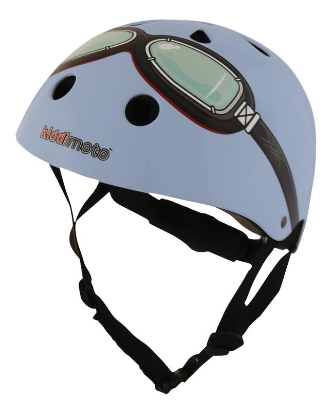 Image pour kiddi moto Casque vélo pour enfant Blue Goggle 48 - 52 cm à partir de Dreambaby