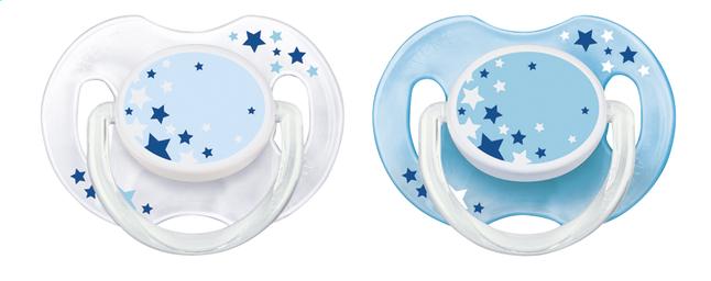 Image pour Philips AVENT Sucette 0 - 6 mois étoile - 2 pièces à partir de Dreambaby