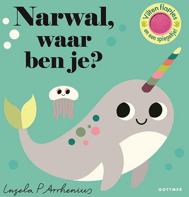 Afbeelding van Babyboek Narwal, waar ben je? from Dreambaby