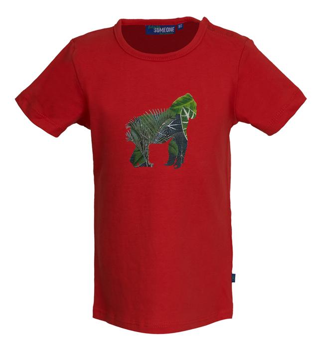 Someone T-shirt met korte mouwen Red