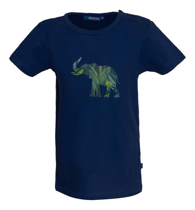Someone T-shirt met korte mouwen Dark Blue