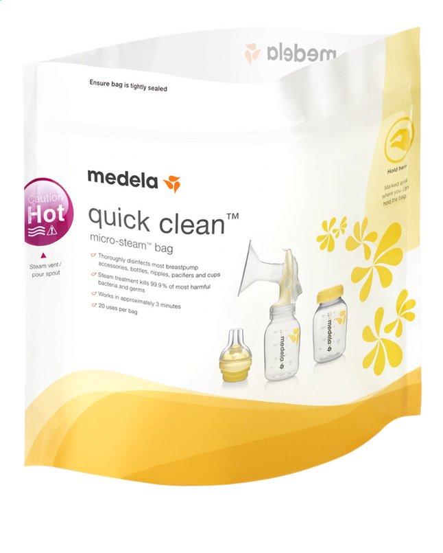 Image pour Medela Sachet pour micro-ondes Quick Clean - 5 pièces à partir de Dreambaby