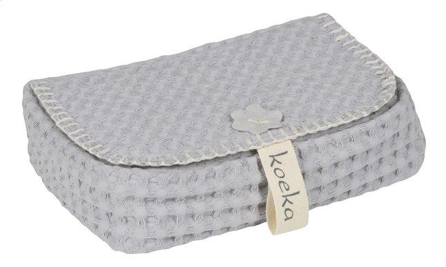 Afbeelding van Koeka Hoes voor vochtige doekjes Antwerp silver grey from Dreambaby
