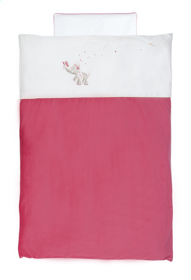 Afbeelding van Noukie's Dekbedovertrek Anna & Pili polyester from Dreambaby