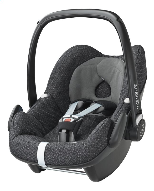 maxi cosi si ge auto portable pebble groupe 0 black crystal dreambaby. Black Bedroom Furniture Sets. Home Design Ideas