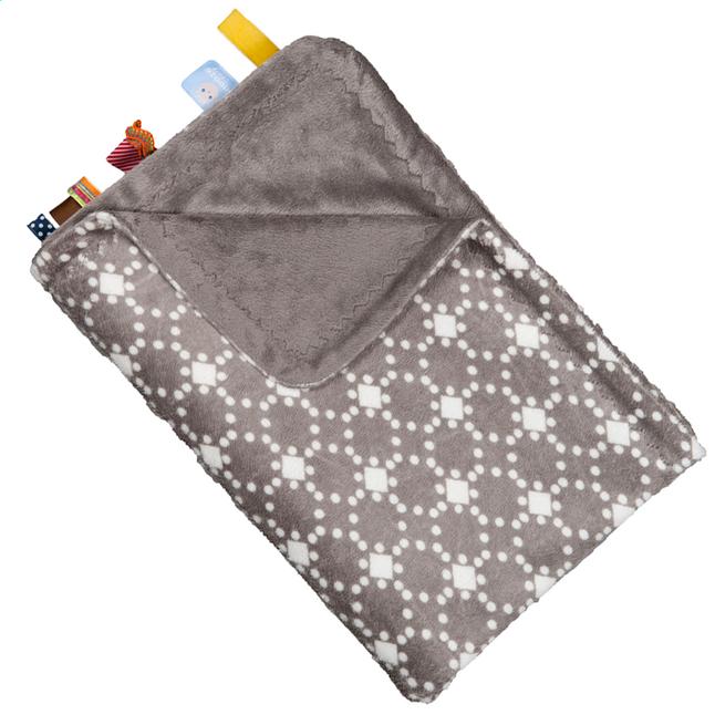 Image pour Snoozebaby Couverture pour berceau ou parc diamond taupe à partir de Dreambaby