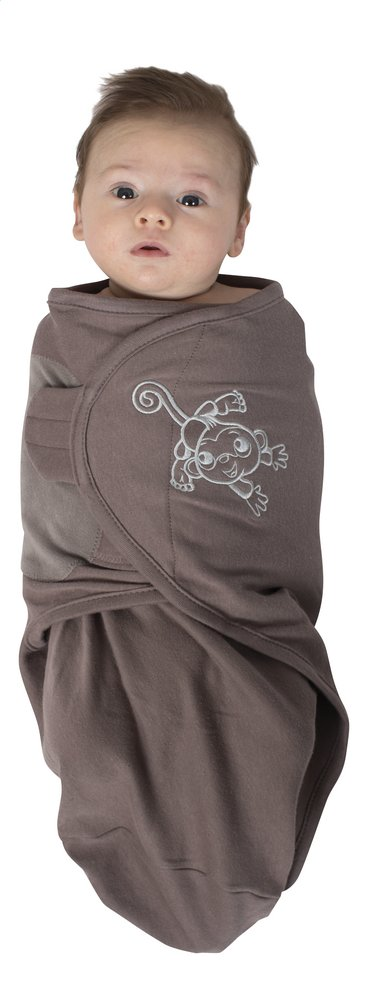 Afbeelding van Bo Jungle Inbakerdoek B-wrap taupe from Dreambaby
