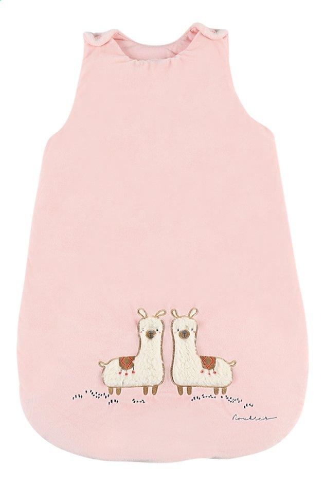 Noukie's Sac de couchage Moris & Sacha Veloudoux polyester rose 70 cm