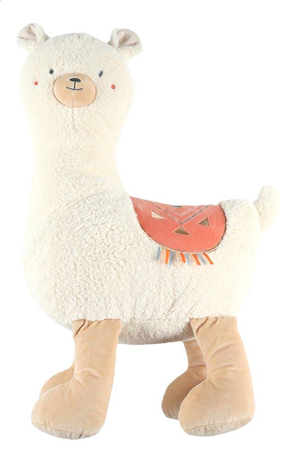 Afbeelding van Noukie's Knuffel Moris & Sacha Sacha Lama 80 cm from Dreambaby