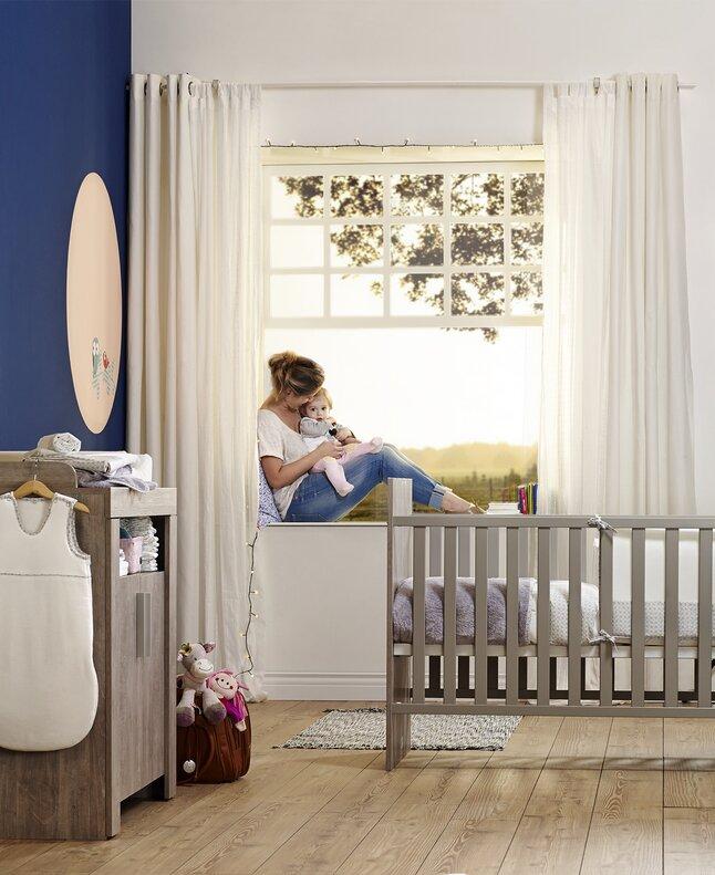Afbeelding van 3-delige meegroeikamer Mirco met kast met 2 deuren from Dreambaby