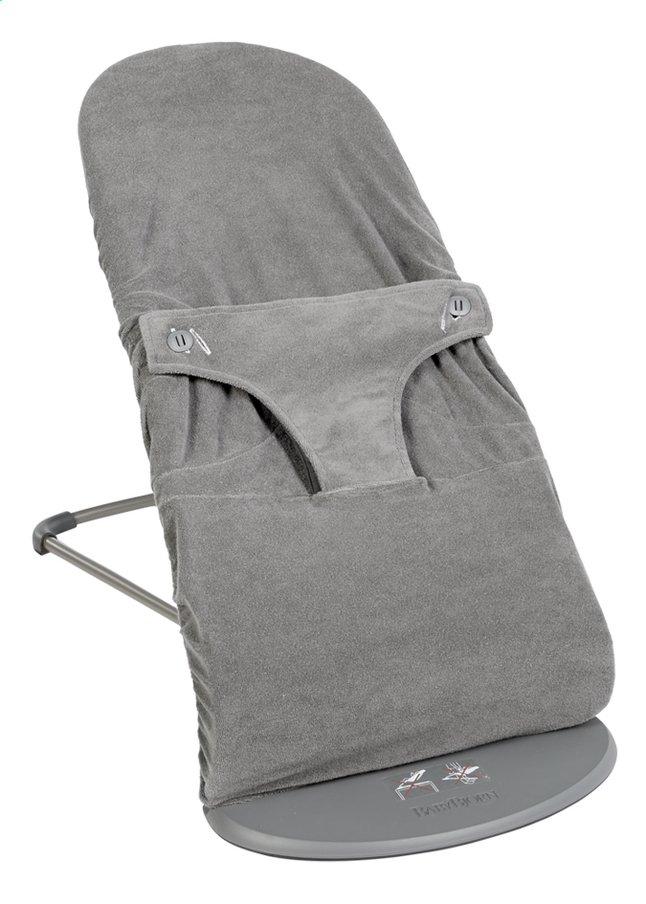 Dreambee Housse pour relax Essentials gris foncé tissu-éponge