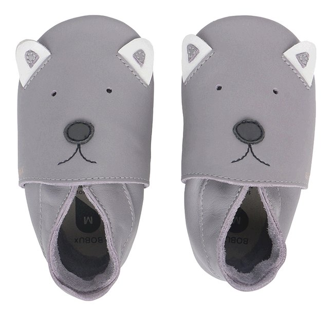 Bobux Chaussures Soft sole Gull Grey Woof grey