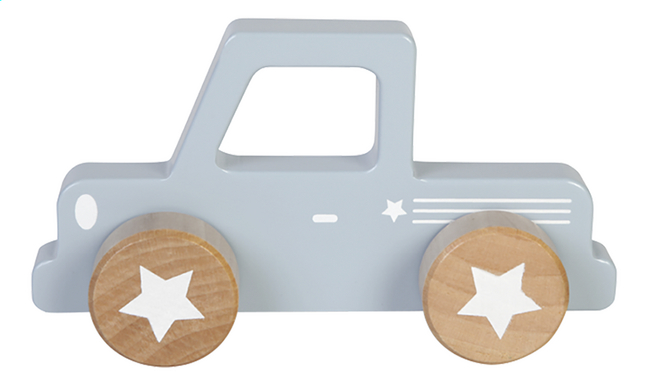 Image pour Little Dutch Pick-up en bois Adventure Blue à partir de Dreambaby