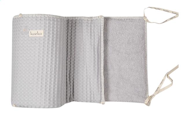 Image pour Koeka Tour de lit Amsterdam coton/éponge gris argenté à partir de Dreambaby