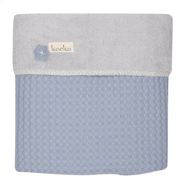 Image pour Koeka Couverture d'hiver pour lit Oslo soft blue/silver grey à partir de Dreambaby