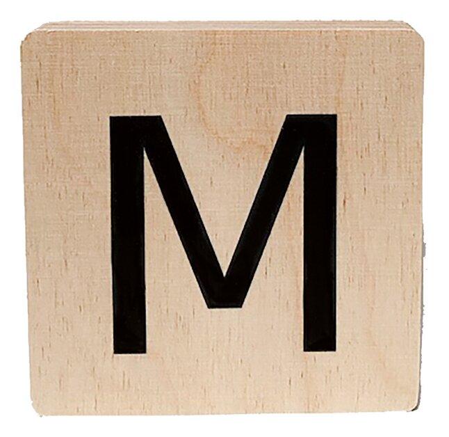 Minimou Lettre en bois M