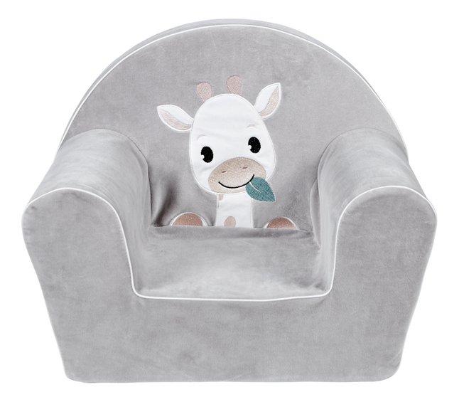 Dreambee Fauteuil pour enfant Tobi gris