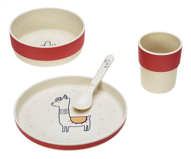 Image pour Lässig Set repas 4 pièces Glama Lama Sheila coral à partir de Dreambaby