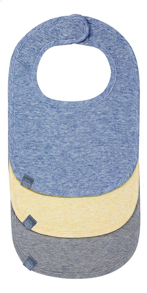 Image pour Lässig Bavoir New Born Boys avec velcro bleu/jaune/gris - 3 pièces à partir de Dreambaby