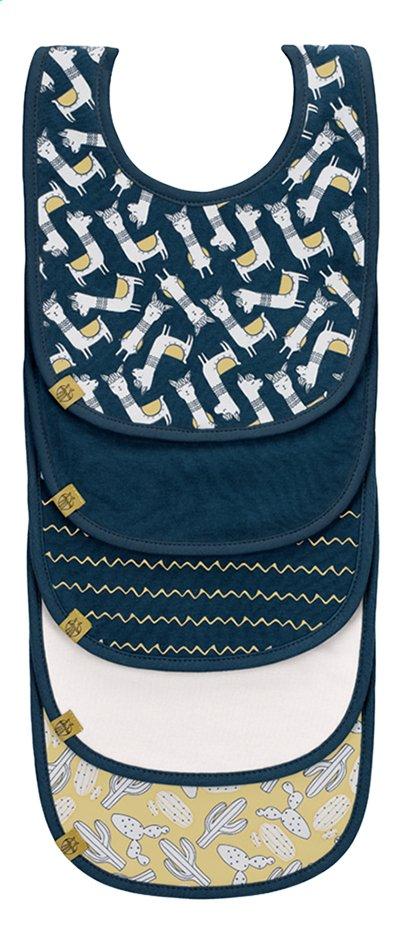 Afbeelding van Lässig Slabbetje Glama Lama Sheila met velcrosluiting blauw - 5 stuks from Dreambaby