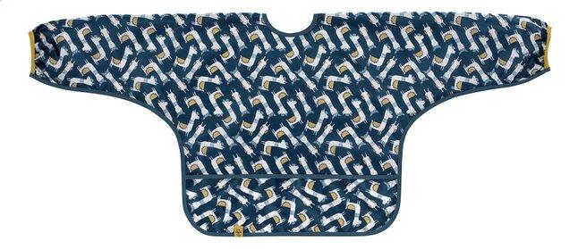 Image pour Lässig Bavoir à manches Glama Lama Sheila à cordelettes bleu à partir de Dreambaby