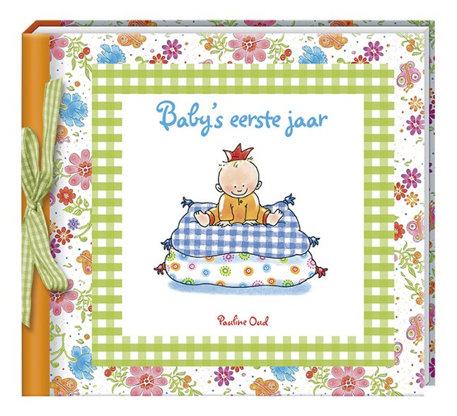 Afbeelding van Babydagboek Baby's eerste jaar - Pauline Oud from Dreambaby