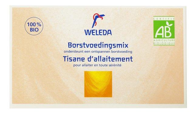 Weleda 30 infusettes pour l'allaitement Bio