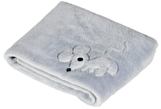 Image pour Pericles Couverture pour berceau ou parc Mouse Grey teddy à partir de Dreambaby