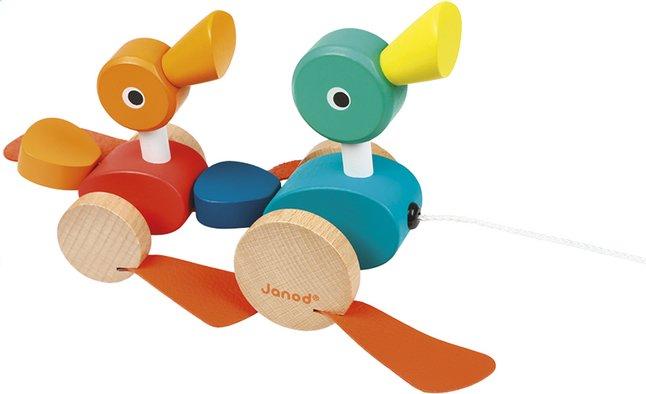 Afbeelding van Janod trekspeeltje Duck Family from Dreambaby