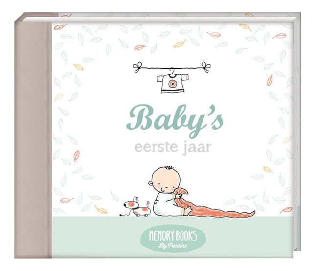 Ongekend Babydagboek Baby's eerste jaar, Memory Books by Pauline | Dreambaby TV-97
