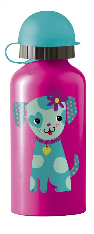 Afbeelding van Crocodile Creek Drinkfles puppy roze 400 ml from Dreambaby