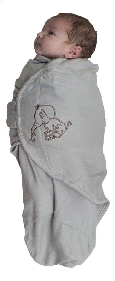 Bo Jungle Couverture d'emmaillotage B-Wrap coton Éléphant large