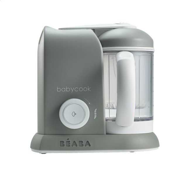 Image pour Béaba Cuiseur vapeur-mixeur Babycook Solo gris/blanc à partir de Dreambaby