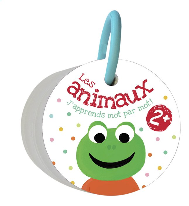 Afbeelding van Babyboek J'apprends mot par mot: les animaux FR from Dreambaby