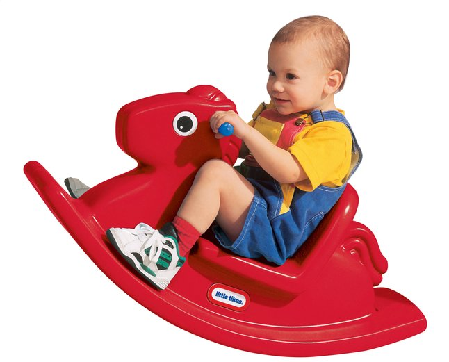 Afbeelding van Little Tikes schommelpaard Rocking Horse rood from Dreambaby