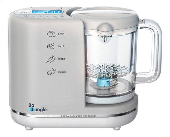 Afbeelding van Bo Jungle Stoomkoker-mixer B-Digital Baby Food Processor from Dreambaby