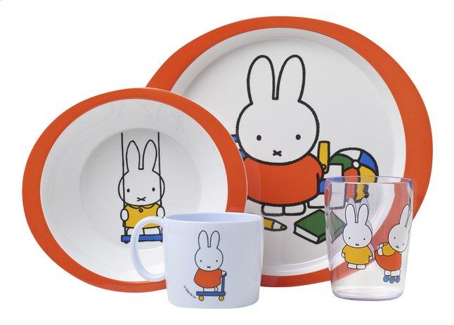 Image pour Rosti Mepal Set repas 4 pièces Miffy à partir de Dreambaby