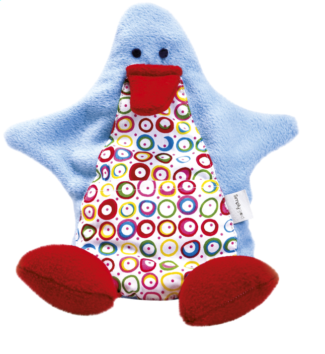 Afbeelding van Simply Good Warmteknuffel Ducky Duck blue from Dreambaby