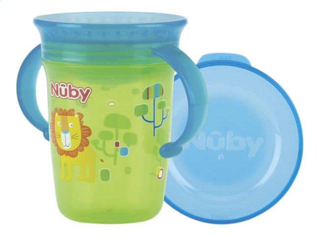 Afbeelding van Nûby Oefenbeker met harde tuit 360° Wonder cup 240 ml groen from Dreambaby