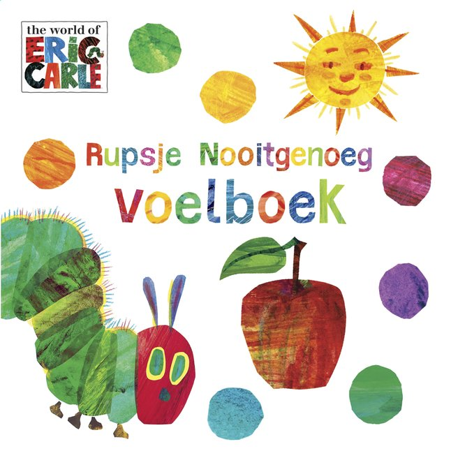 Image pour Voelboek Rupsje Nooitgenoeg NL à partir de Dreambaby