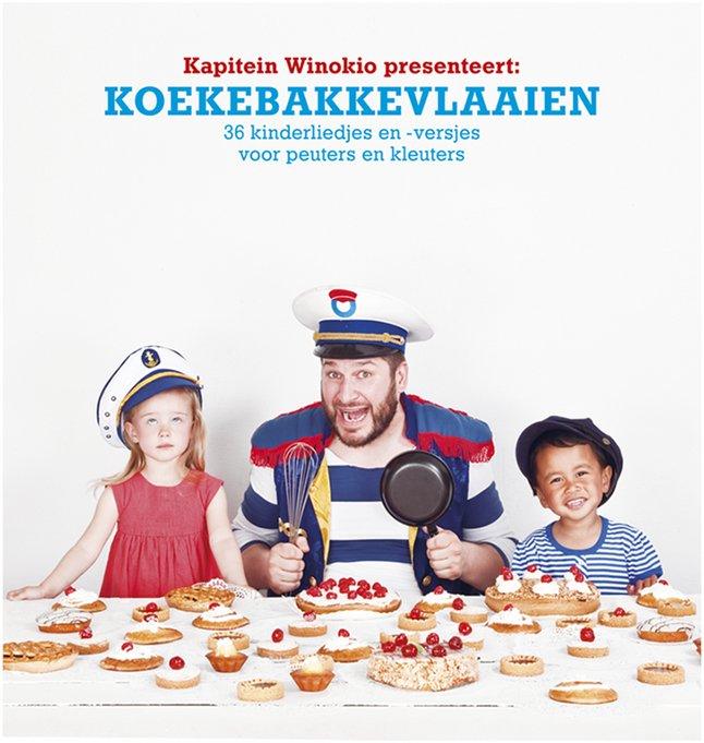 Afbeelding van Boek Koekebakkevlaaien - Kapitein Winokkio from Dreambaby