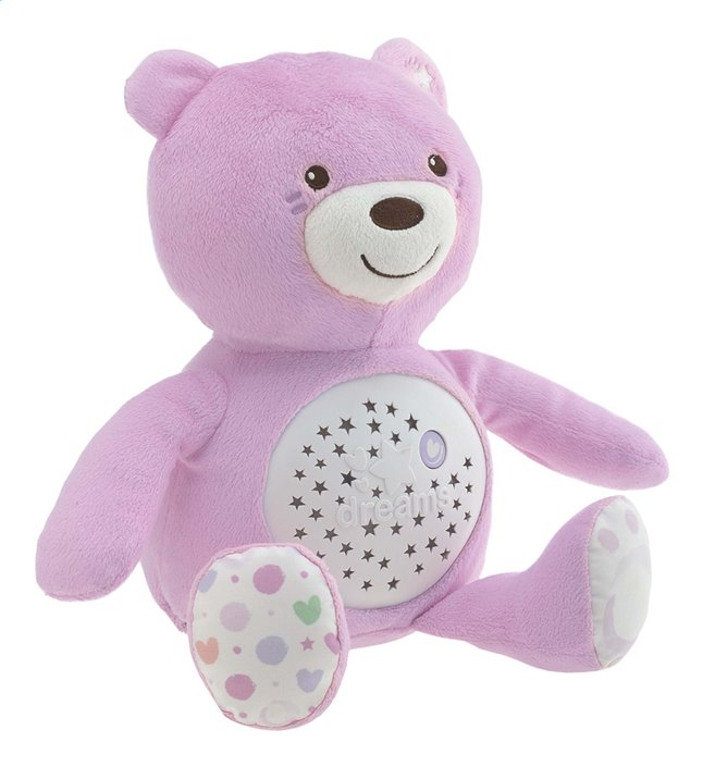 Image pour Chicco Peluche Baby Bear First Dreams rose à partir de Dreambaby