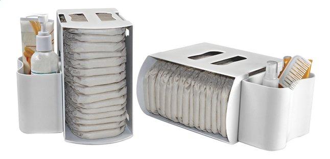 Image pour Prince Lionheart Boîte de rangement pour langes Diaper Depot - 2 pièces à partir de Dreambaby