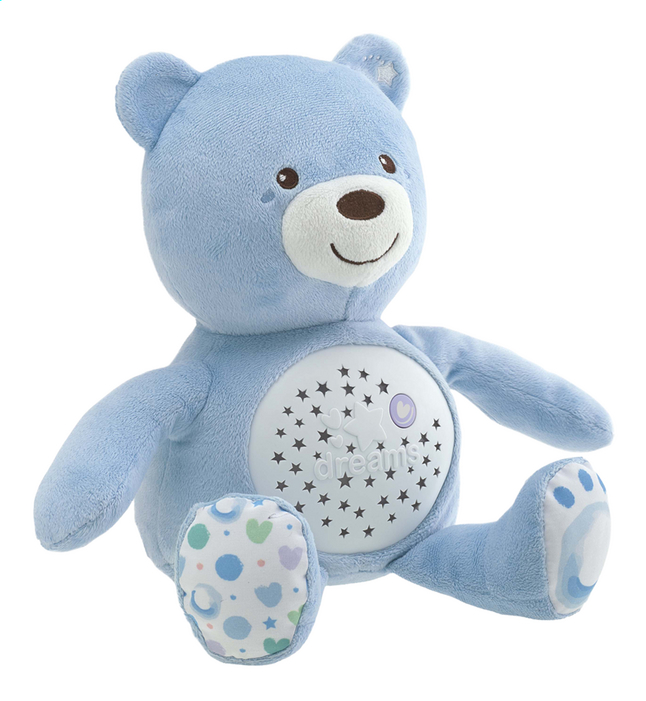 Afbeelding van Chicco Slaapknuffel Baby Bear First Dreams blauw from Dreambaby