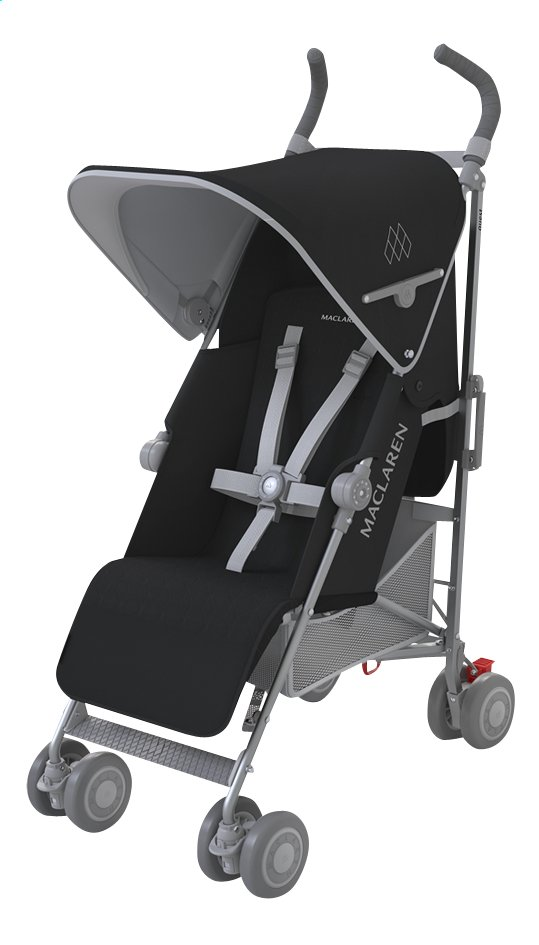 Afbeelding van Maclaren Buggy Quest 2016 black/silver from Dreambaby